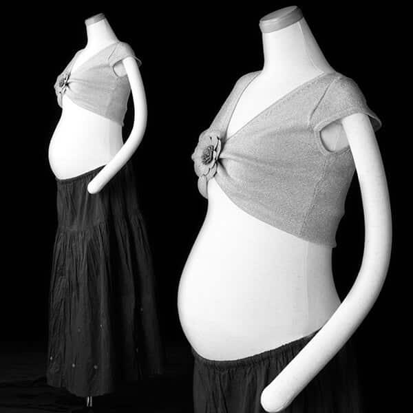 黒いロングスカートの組み合わせ-1