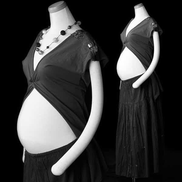 黒いスカートとの組み合わせ-4