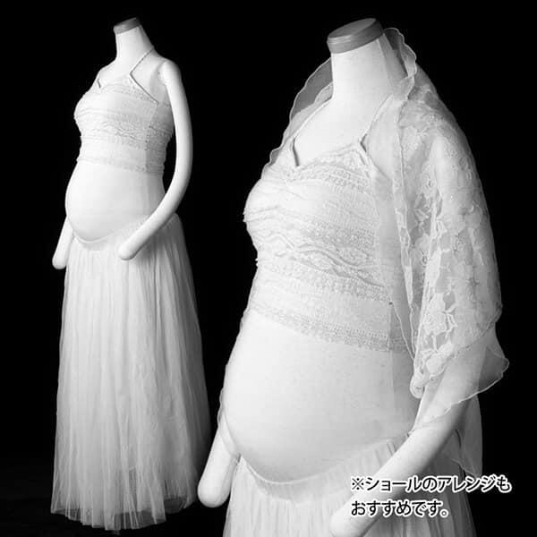 白系の衣装…シンプル or カジュアルドレッシー③