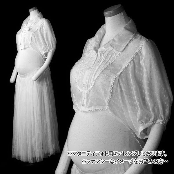 白系の衣装…ファンシー①